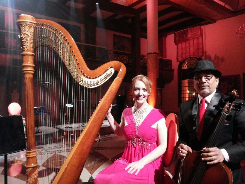 jogi with Royal Harp