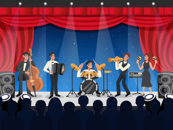 HERE'S HOW TO FIND THE BEST BAND FOR CORPORATE EVENT
