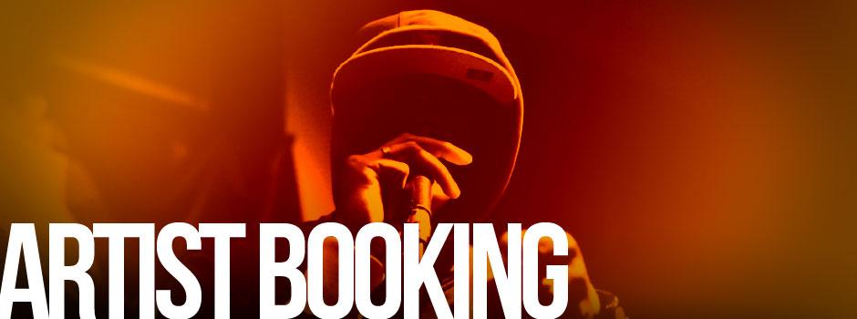 artist booking